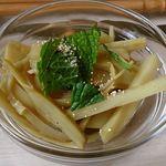 エイケイコーナー - AK Corner @板橋本町 オープン特別サービス  爽やかなミントの香りのタイ風タケノコサラダ