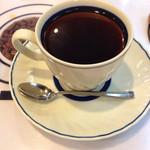珈琲園 - モーニングセットのコーヒー
