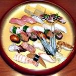 寿司華 - おまかせ2人前(出前)