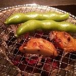 Rojimon - 炭焼きの付きだし