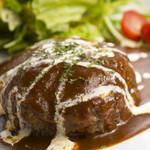 cafe Dining Bear Paw - 料理写真:ハンバーグ