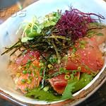 27122159 - 天然魚のヅケ丼
