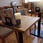 BAKERY CAFE CLUB RATIE - 私の座った席の近く