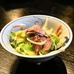 かんじ - 2014.4 豚タンサラダ