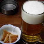 いなかっぺ - 生ビール480円×2+お通し630円?