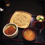 27124968 - 蕎麦とミニソースカツ丼