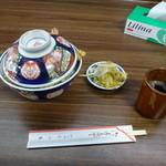 まつ本 - 上天丼1100円