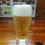 一圓 - まずはビールで乾杯♪ H26.5