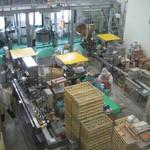 工場レストラン健食たぬみせ - 工場内観光