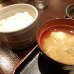 27126976 - ご飯&味噌汁