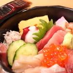 食楽キッチン - 料理写真:相模湾の海鮮丼
