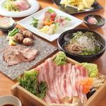 あ・うん - 料理写真:ボリームたっぷり!【あ・うん】の名物コース