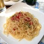 Midsummer Cafe 夏至茶屋 - ツナとフレッシュトマトのペペロンチーノ@Midsummer Cafe 夏至茶屋