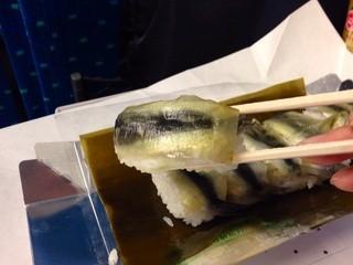 吾妻寿司 岡山駅店 - ままかり寿司(1000円)