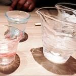 27135646 - 酒 1合 オシャレなグラス