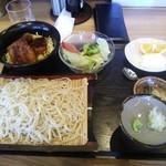 27135693 - ヒレカツ丼セット 980円
