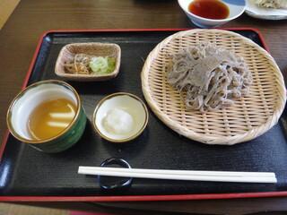 ニ八そば ひらい - 田舎蕎麦