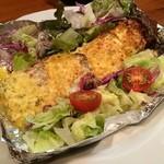 金沢旬菜 なごみや - 厚切りベーコンのタルタルチーズ焼き