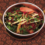 スバカマナ - マトンカダイ(野菜と羊のドライカレー)800円