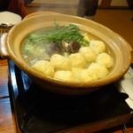 山荘 紗羅樹 - 夕飯(鍋)