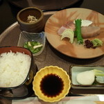 福寿司 - さわら定食