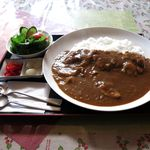 きらら - 料理写真:サラ貝カレー(1,000円)
