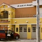 ラ・タヴォラ・ディ・オーヴェルニュ - 2014.5 店舗外観、車4台分の駐車スペースも