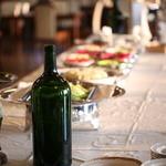 レストラン シャンモリ - ランチにはビュッフェスタイルのサラダバーをご用意しております。