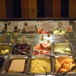 ステーキハンバーグ&サラダバーけん - 料理写真:全20種類以上のサラダバーの一礼