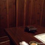 喰快 - 内観写真:2014.5.9(土)19時 2階個室 3名利用 初訪問