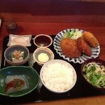レストラン ホロホロ - 最強ミックスフライ定食1