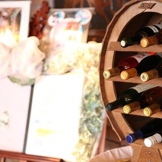 ワインはもちろん併設ワイナリーのものを