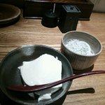 27143202 - (付きだし)お豆腐とかまあげしらす