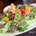 ミントガーデン - ランチのサラダがボリューム満点