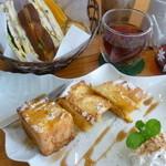 LUANA - ヘルシーサンドとフレンチトースト