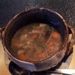 鉄板genten - 野菜スープ