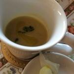 27146389 - 高梨さんが収穫したカーボロネロで作ったスープ