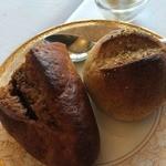 27146424 - 自家製ライ麦パンと天野醤油のもろみ発酵甘露醤油パン