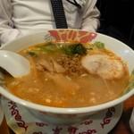 麺亭 - 同行者のラーメン