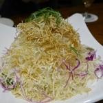 アサヒスーパードライ - (2014/4月)キャベツとじゃこのサラダ
