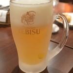 メロスト - 生ビール(ジョッキ)