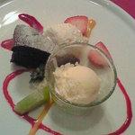 プチラパン - デザート(ガトーショコラ&レアチーズ&アイス)