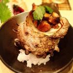 鮨やまと - サザエの壺焼き