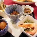 パノラマイン山中湖 - 料理写真:会席膳の前菜いろいろ