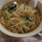 Toukouhanten - サンマー麺セット972円2014年5月10日東光飯店 本館