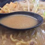 ラーメン工房 みそ伝 - スープ