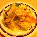 ふうらい坊 - セットのサラダ