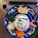 山小路 - 料理写真:ワンプレートランチ  (丹後オイルサーディン)
