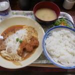 熊ぼっこ - カツあたま定食¥580-