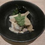 ちょい家 - 酢味噌和え(筍・あさり・ワカメ)